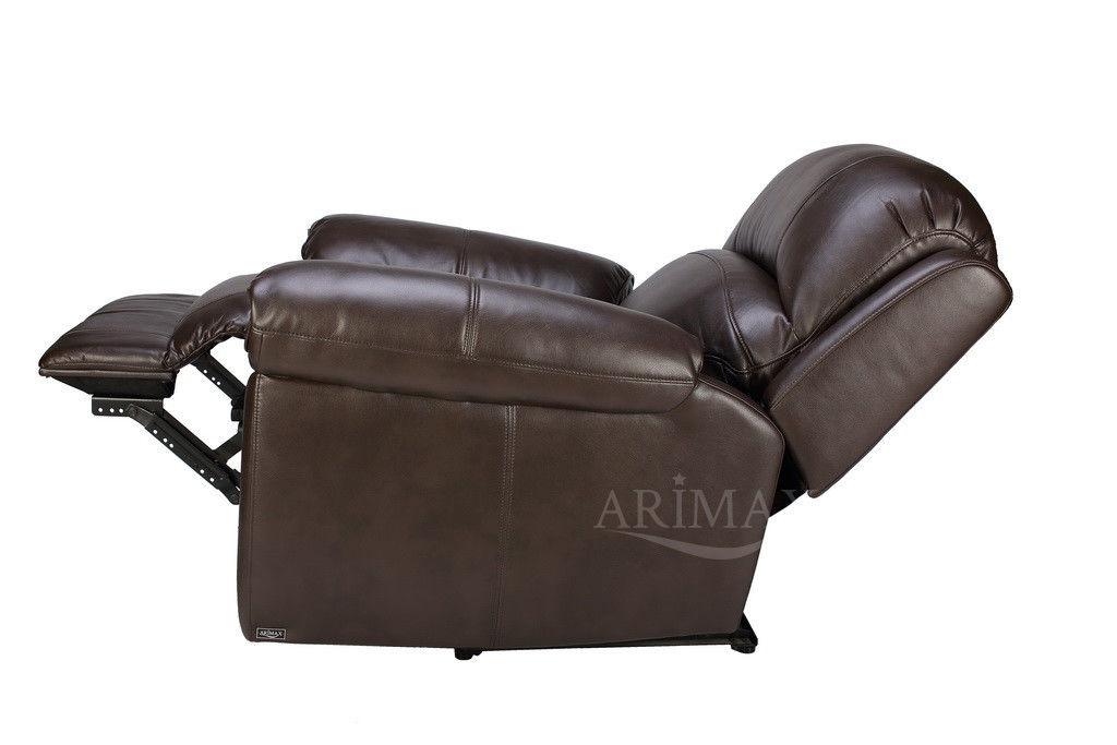 Кресло Arimax Миллер N (Темный каштан) - фото 4