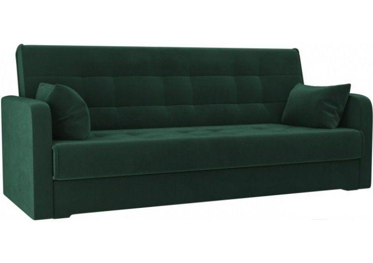 Диван Луховицкая мебельная фабрика Надежда зеленый (120х180) - фото 1