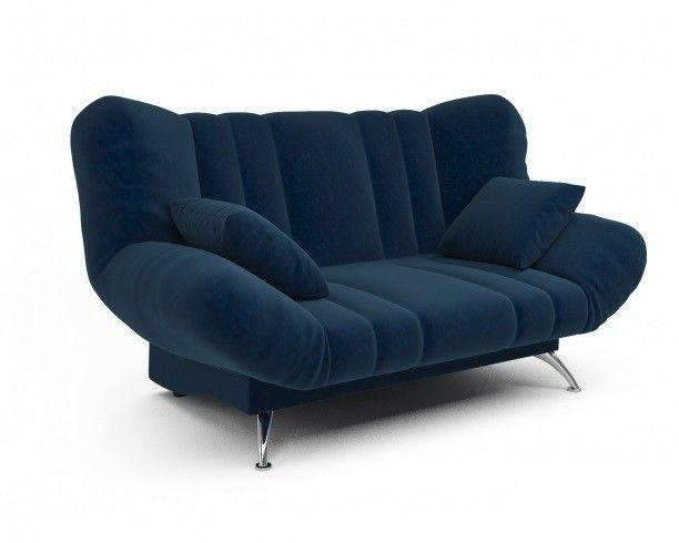 Диван Мебель-АРС Гольф Luna 034 темно-синий - фото 2