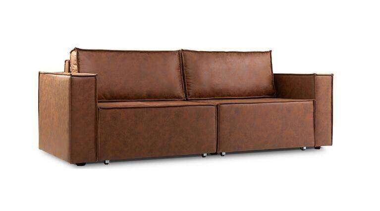 Диван Craftmebel Лофт (экокожа коричневая) - фото 3
