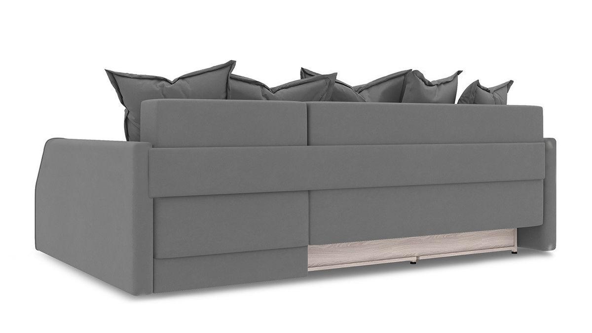 Диван ТриЯ правый «Люксор Slim Т2» (Neo 12 (рогожка) коричневый) - фото 4