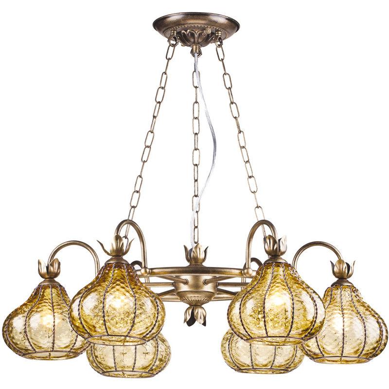 Светильник Arte Lamp Venezia A2235LM-6BG - фото 1
