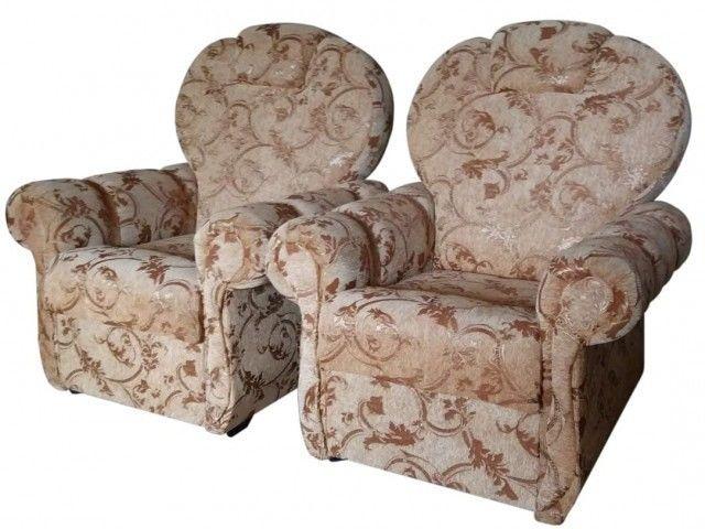 Кресло Андрия Книжка (шенилл) - фото 1