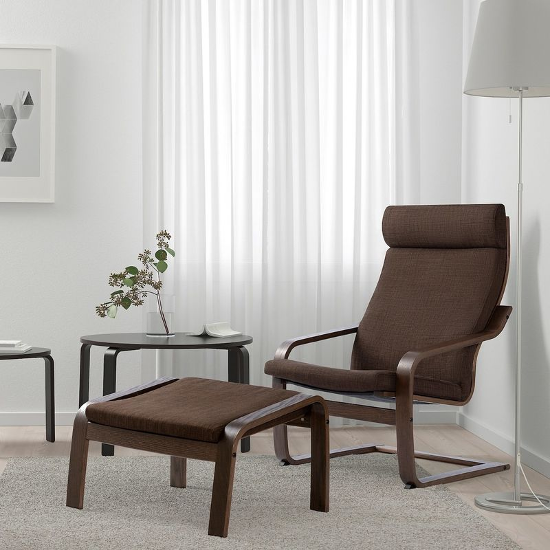 Кресло IKEA Поэнг 893.028.05 - фото 2