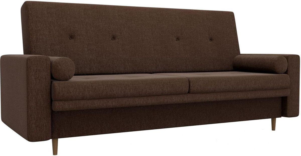 Диван Mebelico Белфаст 100596 рогожка коричневый - фото 3