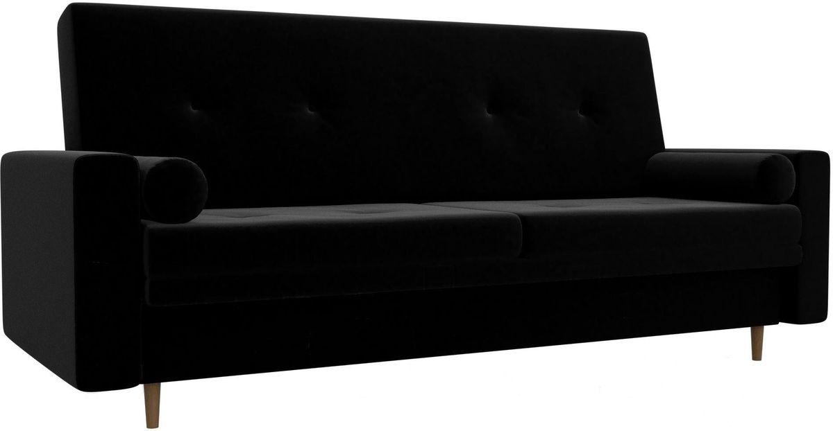 Диван Mebelico Белфаст 100594 микровельвет черный - фото 3