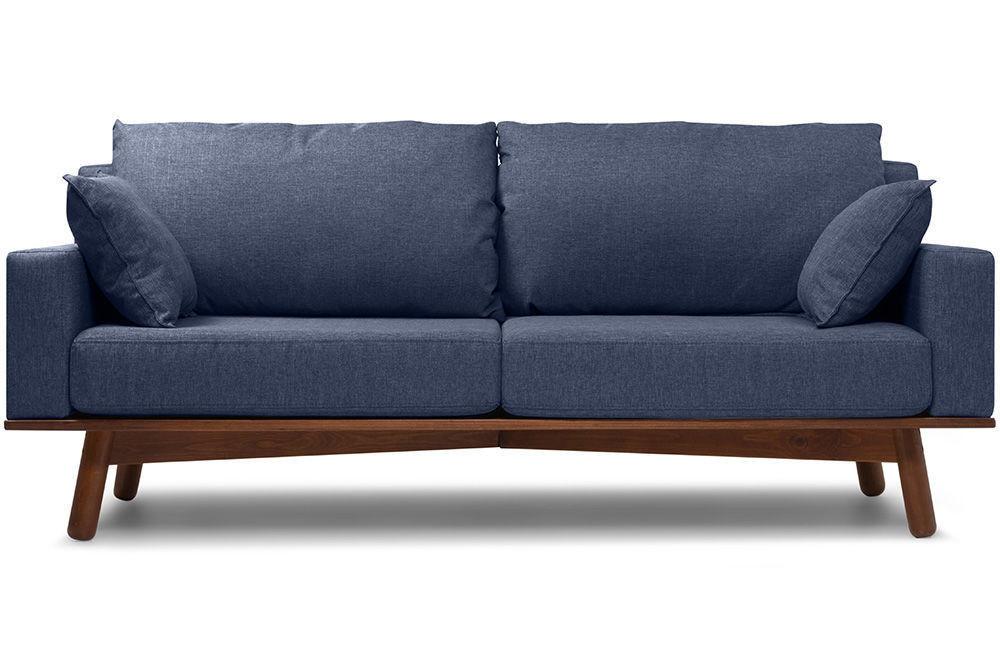 Диван Woodcraft Миннесота Textile Blue - фото 1
