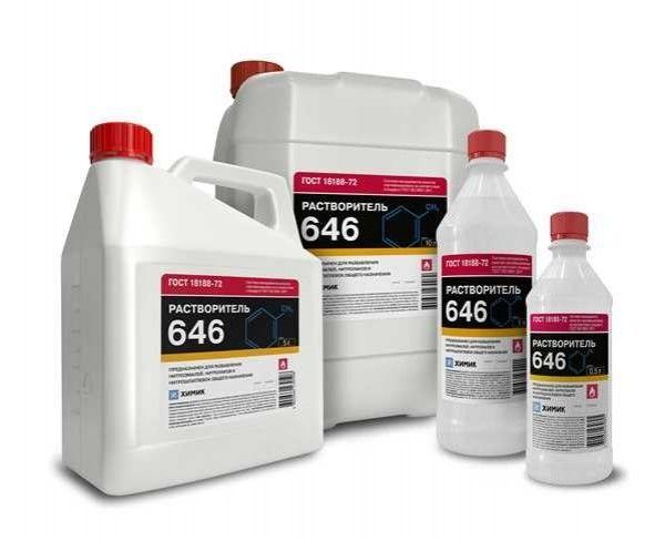 Растворитель Химик 646 (1л) - фото 1