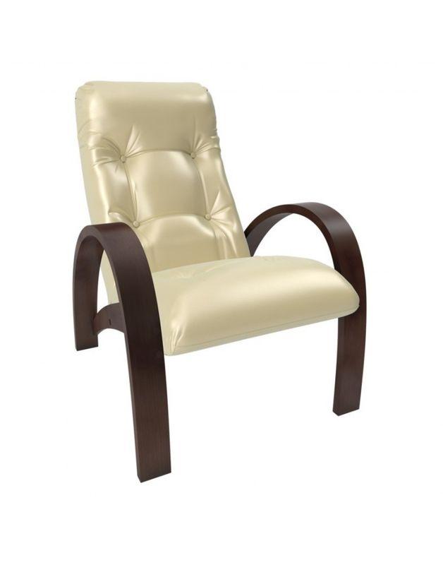 Кресло Impex Модель S7 экокожа орех (oregon 106) - фото 1