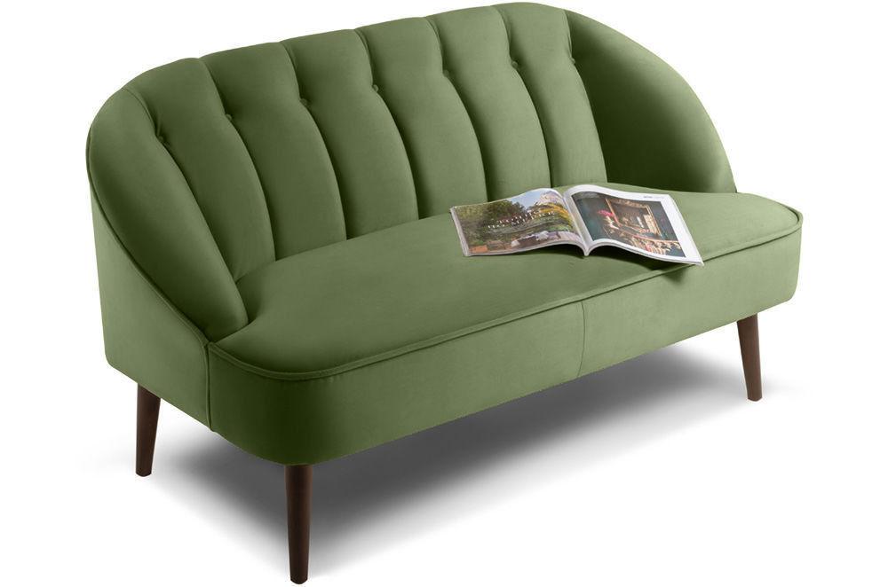 Диван Woodcraft Мона Barhat кушетка Green - фото 2