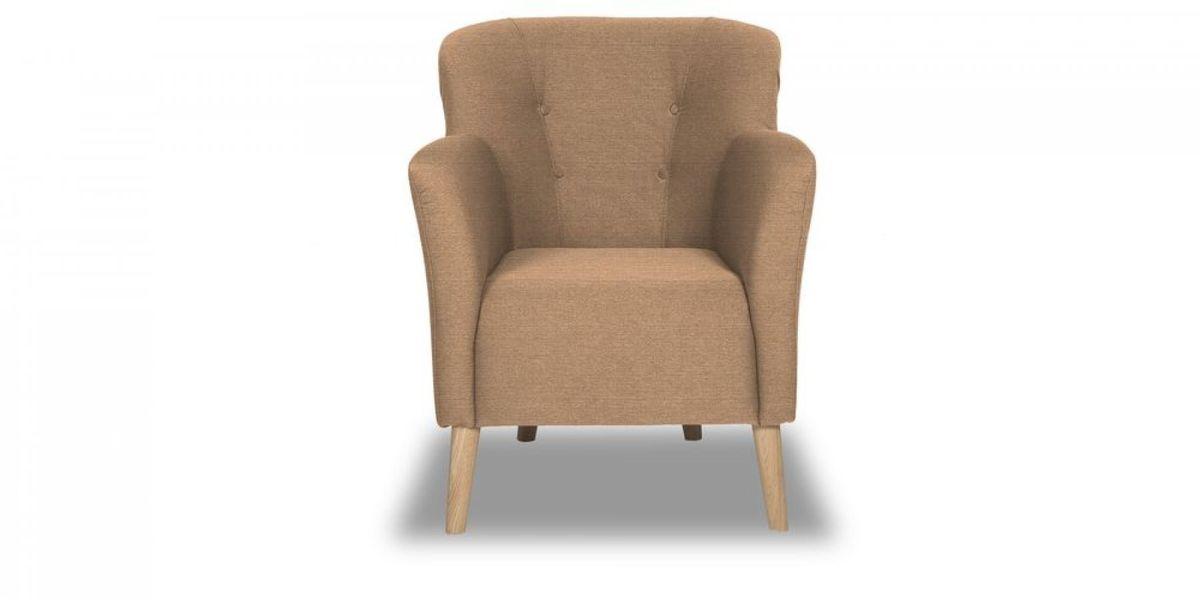Кресло WOWIN Ингрид (Пудровая микророгожка) - фото 2