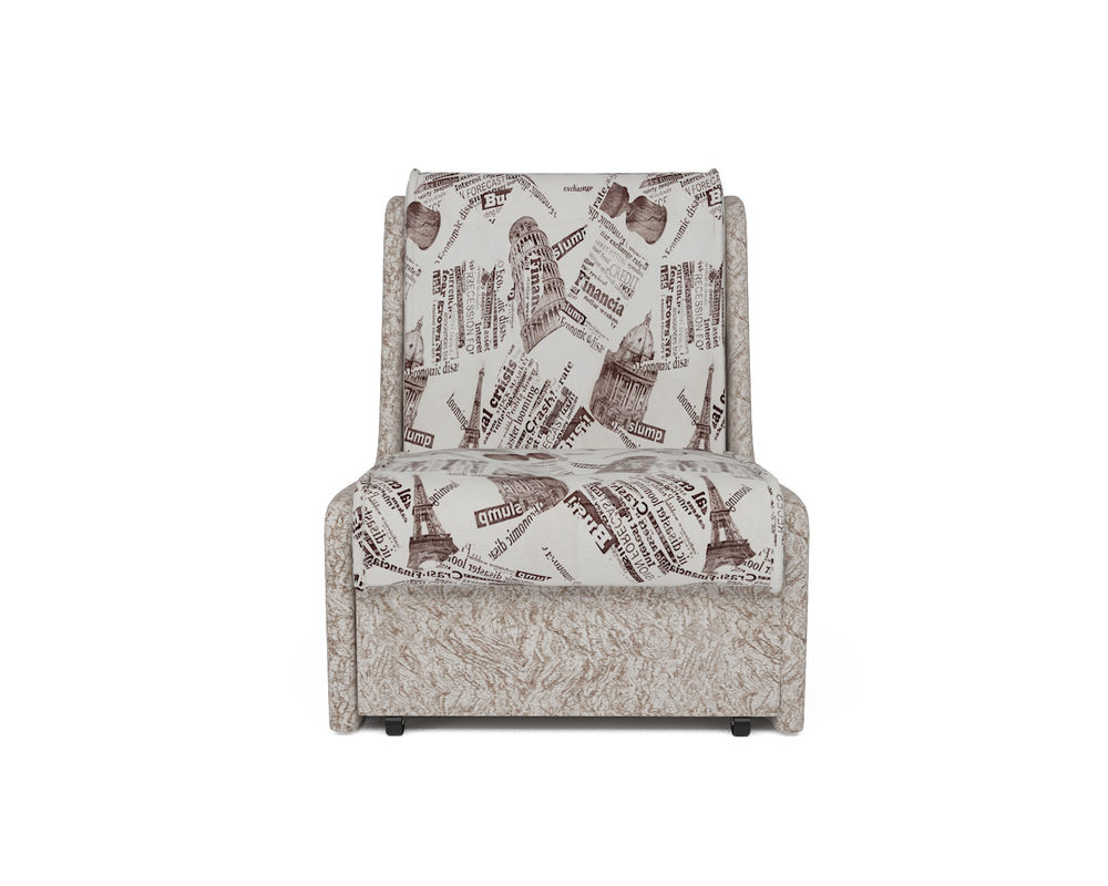 Кресло Мебель-АРС Аккорд №2 (газета коричневая) - фото 5