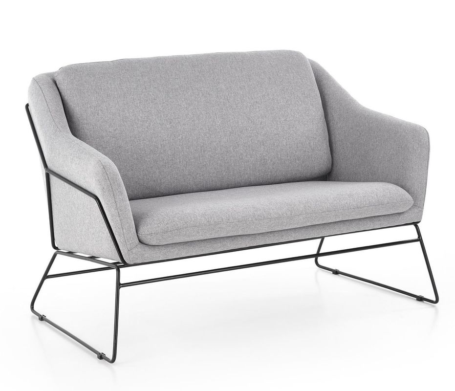 Диван Halmar Soft 2 XL (светло-серый/черный) - фото 1