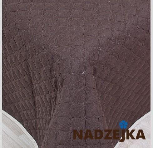 Покрывало Nadzejka Терро серый - фото 14