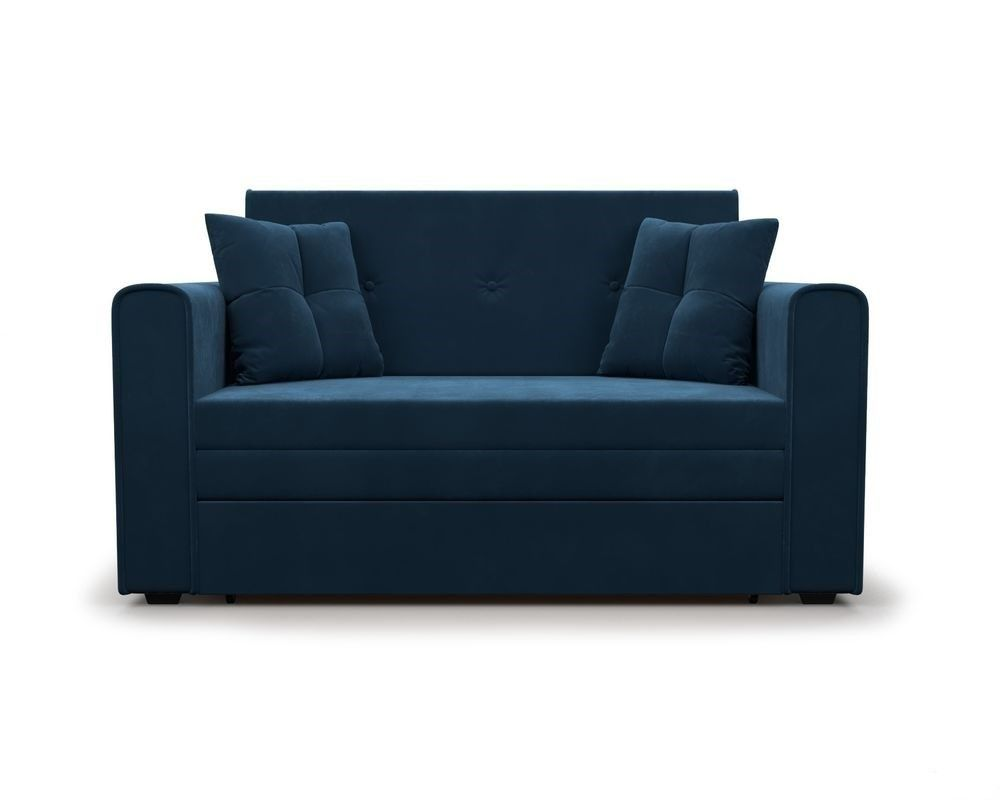 Диван Мебель-АРС Санта Luna 034 темно-синий - фото 2
