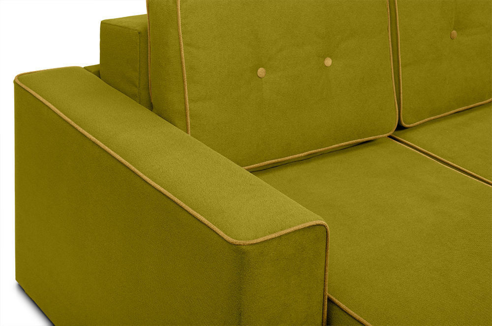 Диван Woodcraft Угловой Менли Velvet Lime - фото 7