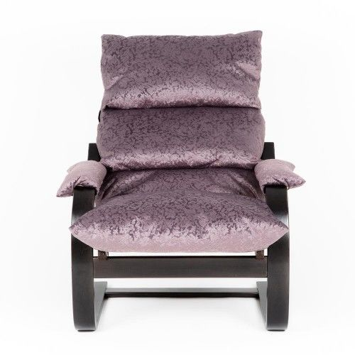 Кресло Greentree Онега венге/ткань Лаванда - фото 2