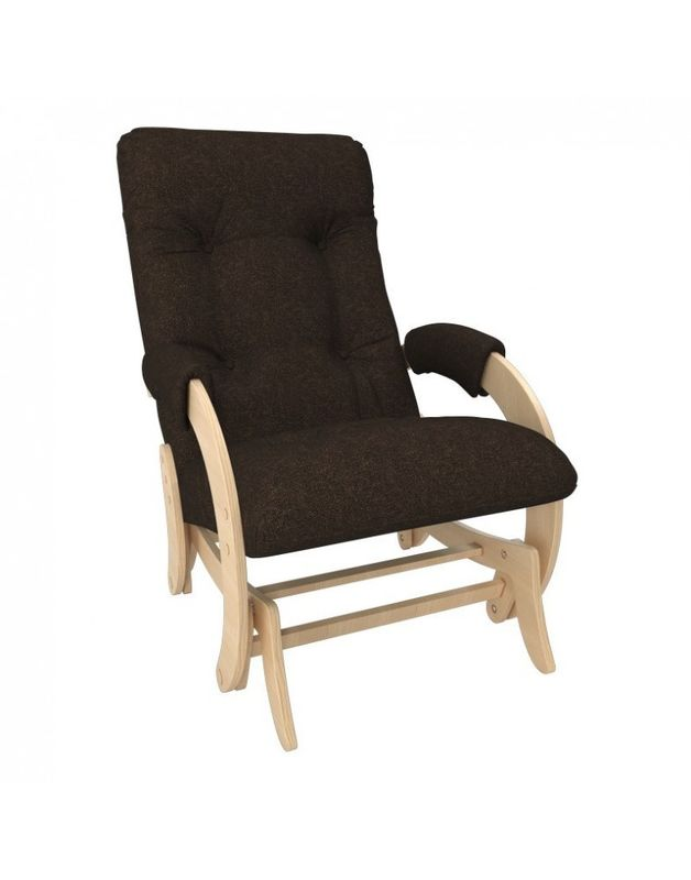 Кресло Impex Кресло-гляйдер Модель 68 Мальта натуральный (Мальта 15) - фото 1
