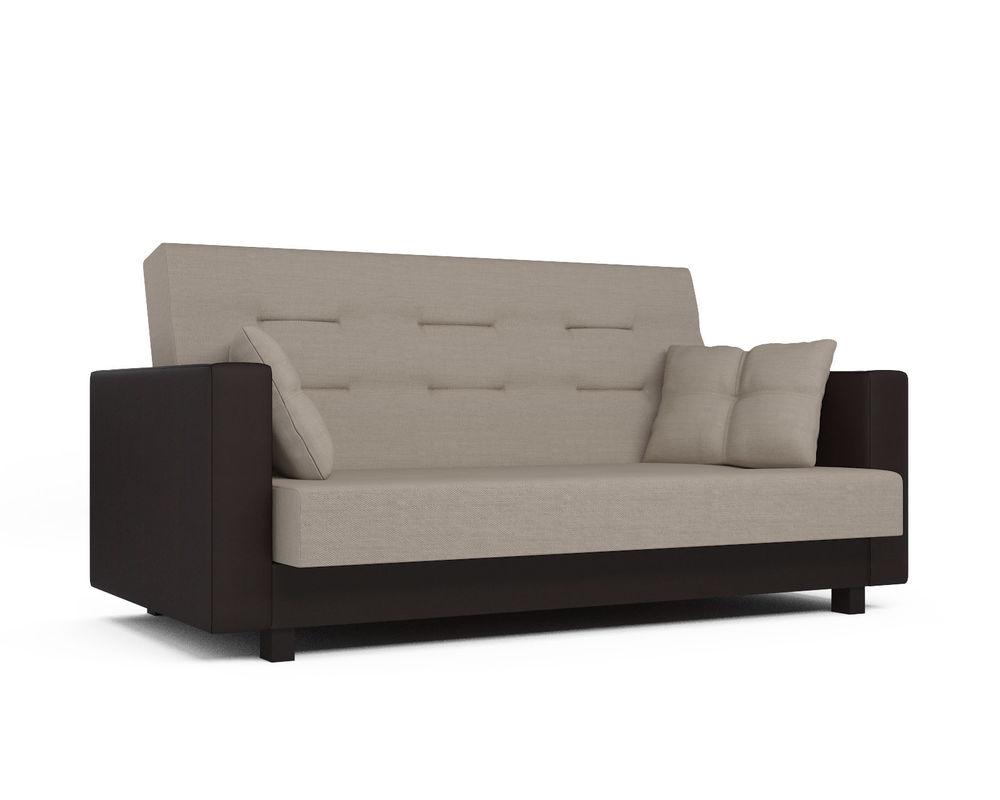 Диван Мебель-АРС Лофт (рогожка бежевая) - фото 2
