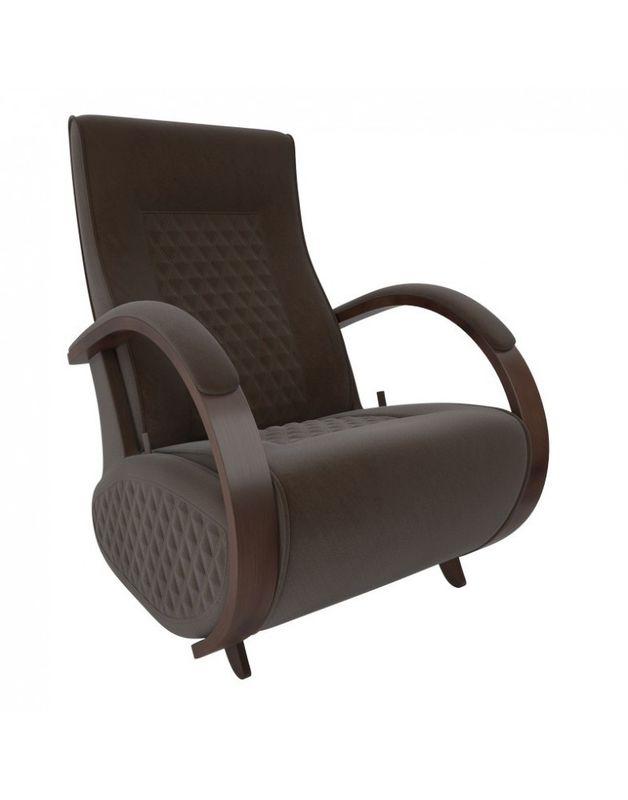 Кресло Impex Balance-3 Verona  орех (denim blue) - фото 3