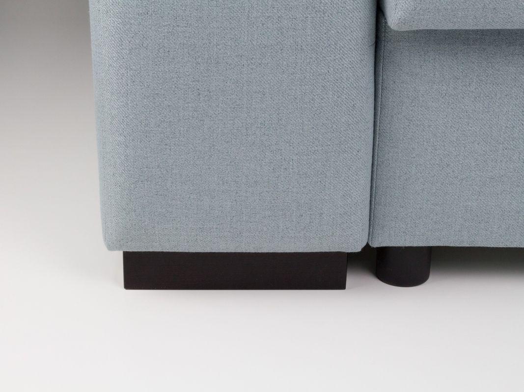 Диван Sonit Плаза дизайн угловой 263x194.5x82 (Milton 01) - фото 6