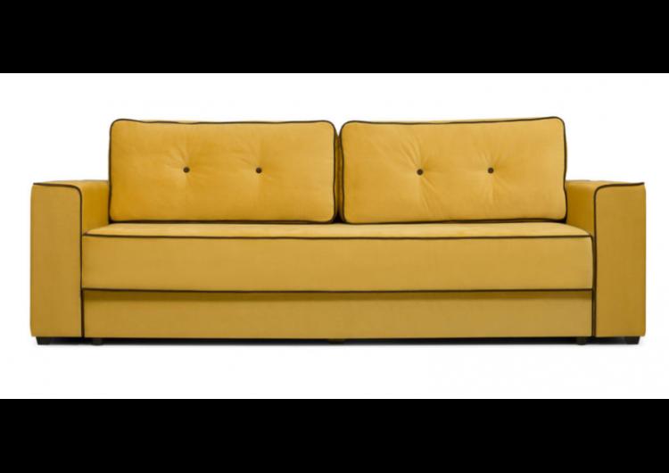 Диван Craftmebel Менли (вельвет желтый) - фото 1