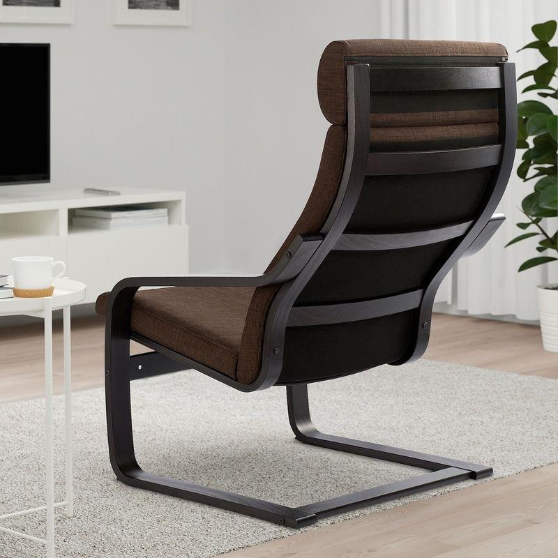 Кресло IKEA Поэнг 793.028.01 - фото 3