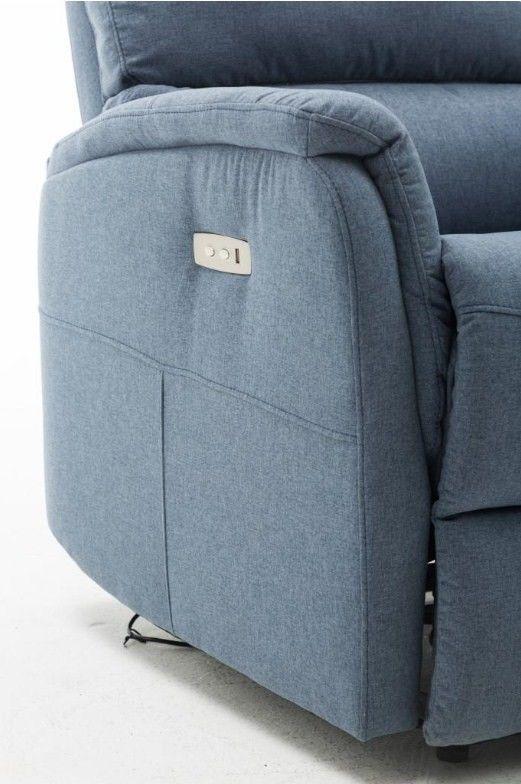 Кресло Arimax Dr Max DM05002 (Джинс) - фото 14