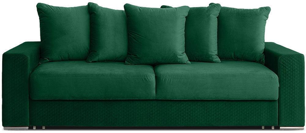 Диван Woodcraft Корсо Velvet Emerald - фото 1