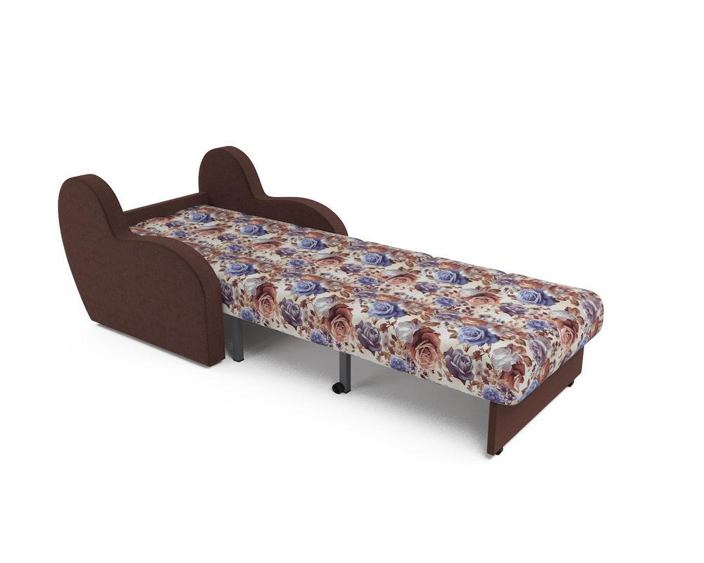 Кресло Мебель-АРС Аккордеон Барон цветы (жаккард + микровелюр) - фото 5