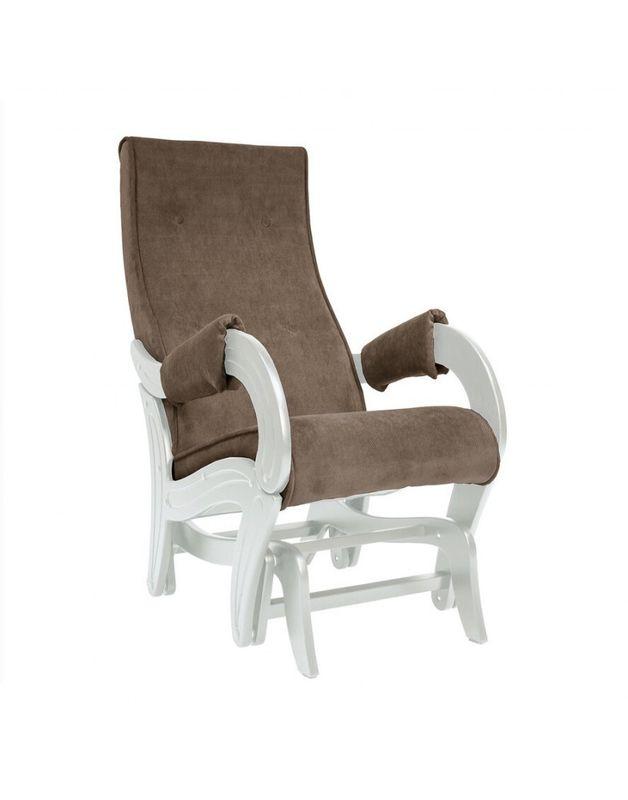 Кресло Impex Кресло-гляйдер Модель 708 Verona сливочный (Antrazite grey) - фото 2