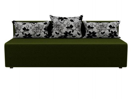 Диван ЛигаДиванов Кесада 101791 микровельвет зеленый - фото 3