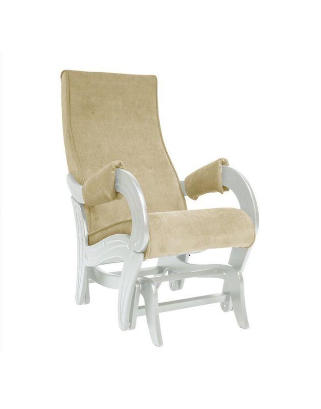 Кресло Impex Кресло-гляйдер Модель 708 Verona сливочный (Vanilla) - фото 1