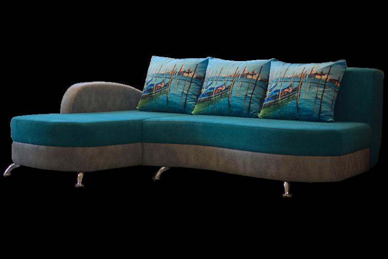 Диван Виктория Мебель Волна угловая СК 2233 - фото 1