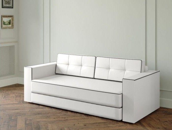 Диван Настоящая мебель Ванкувер Модерн (модель: 00-000034539) белый - фото 1