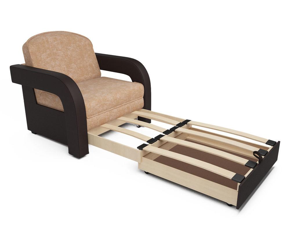 Кресло Мебель-АРС Кармен-2 Кордрой (микровелюр + экокожа) - фото 5