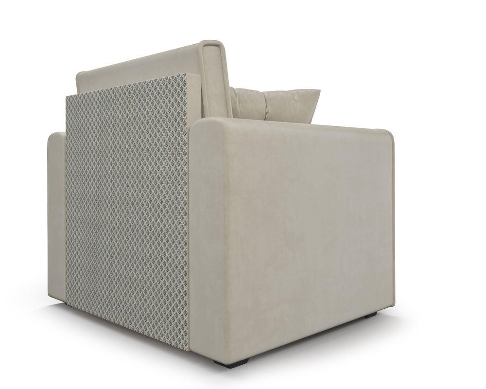 Кресло Мебель-АРС Санта (бархат бежевый) - фото 5