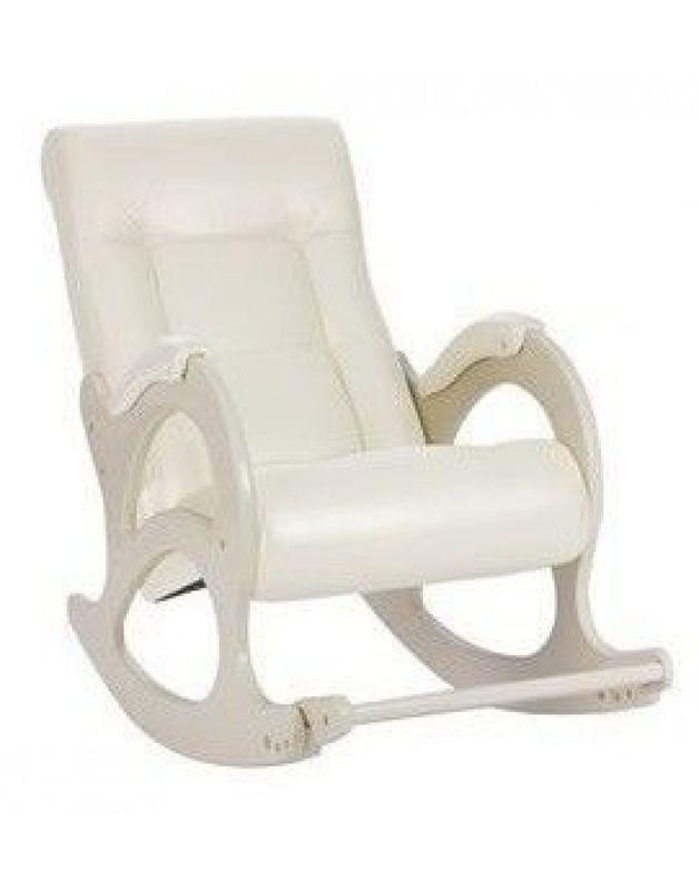 Кресло Impex Модель 44 б/л сливочный экокожа (dundi 112) - фото 4