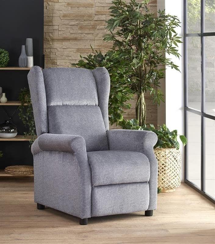 Кресло Halmar AGUSTIN (серый) V-CH-AGUSTIN-FOT-POPIELATY - фото 2