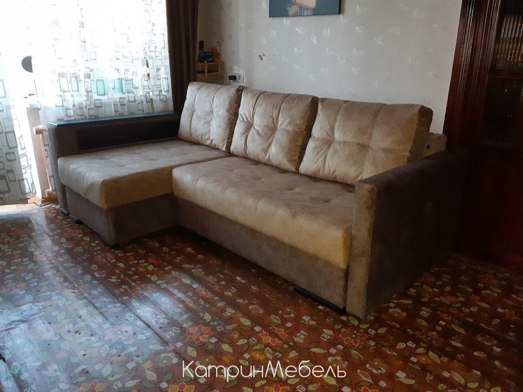 Диван DM-мебель Бристоль угловой (коричневый) - фото 1