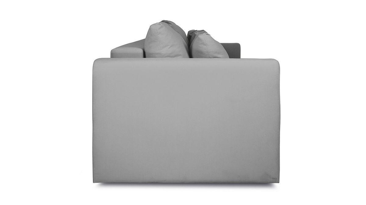 Диван ТриЯ «Вилсон» (Kolibri Aqva (велюр) бирюзовый подушка Kolibri Cream (велюр) кремовый) - фото 5