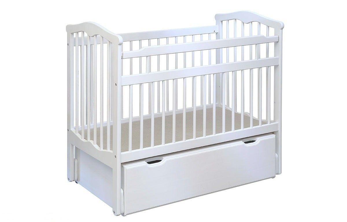 Детская кровать Элегия с маятником - фото 1