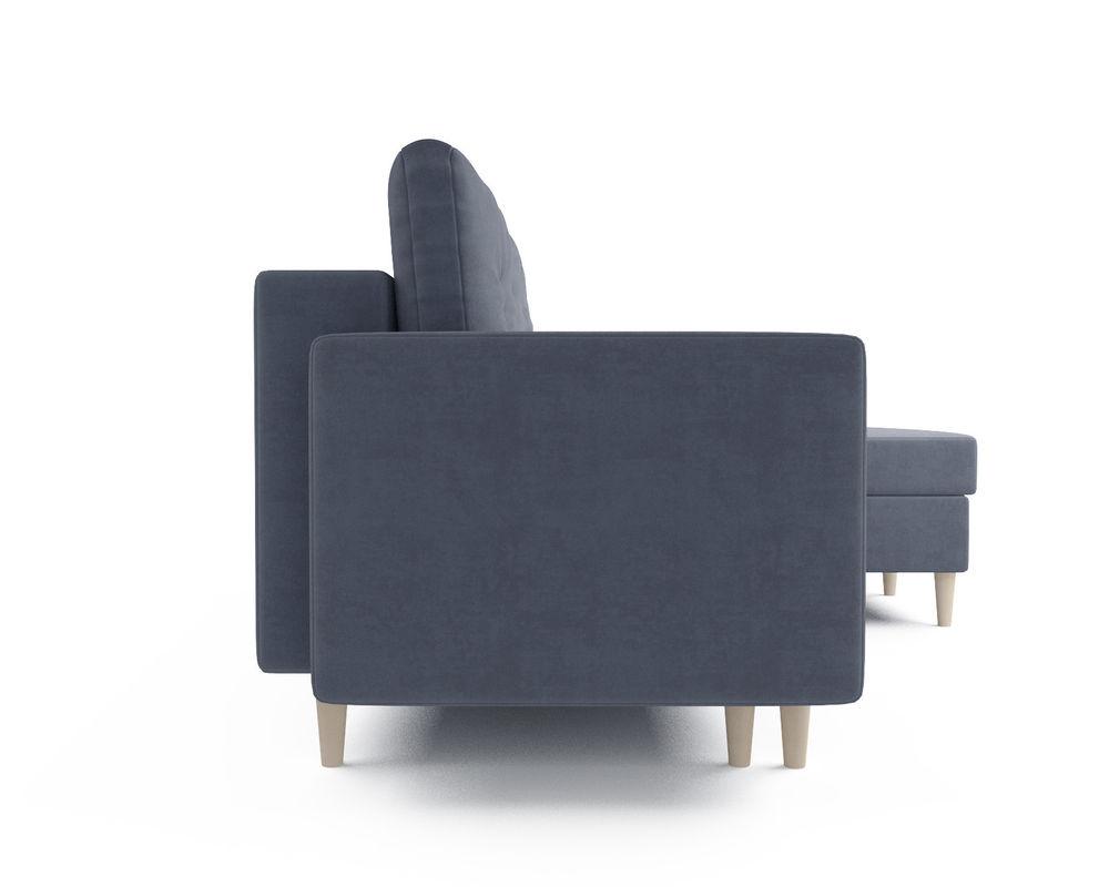 Диван Мебель-АРС Белфаст (велюр серо-синий / НВ-178/26) - фото 3