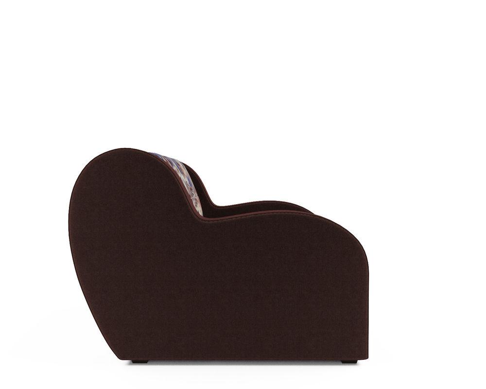 Кресло Мебель-АРС Аккордеон Барон цветы (жаккард + микровелюр) - фото 3