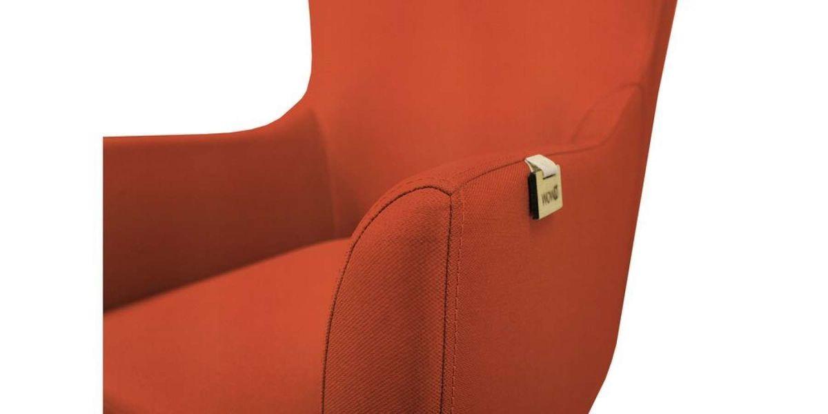 Кресло WOWIN Элеганза высокое (Терракотовый велюр) - фото 4