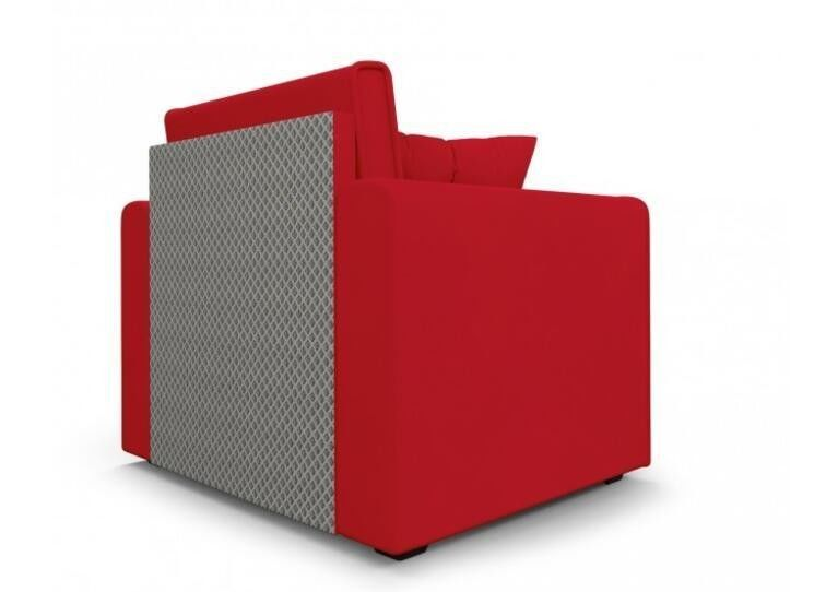 Кресло Craftmebel Санта (кордрой красный) - фото 5