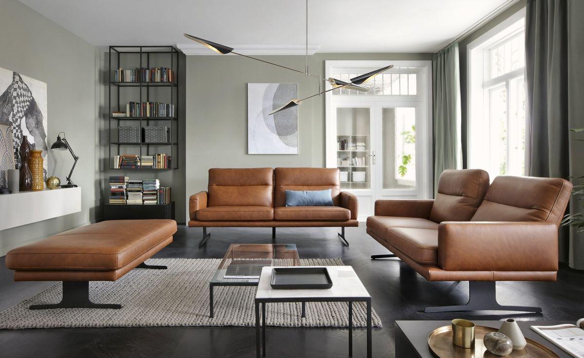 Набор мягкой мебели Gala Collezione Genova (натуральная кожа) - фото 1