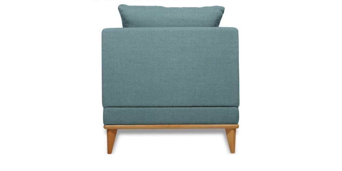 Кресло WOWIN Эстар (Бледно-васильковая рогожка) - фото 5