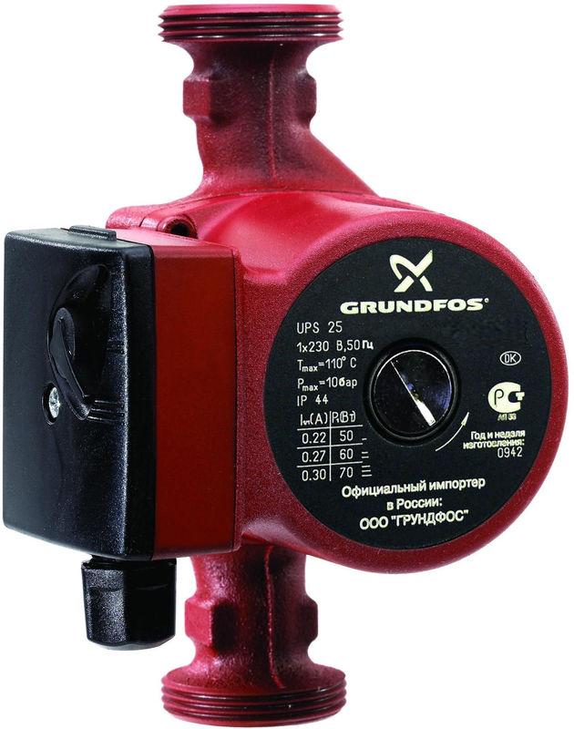 Насос для воды Grundfos UPS 25-50 180 - фото 1