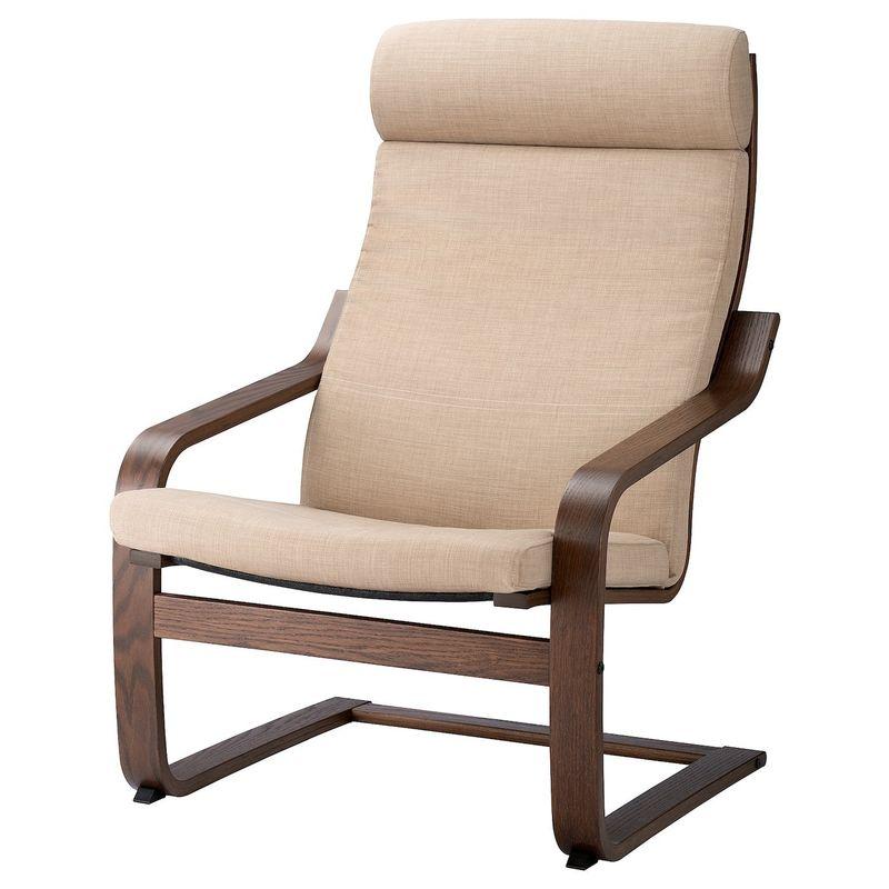 Кресло IKEA Поэнг 193.028.04 - фото 1